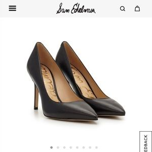 Sam Edelman Hazel Pointed Toe Heel - Size 10M